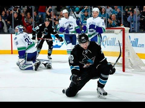 Marcus Sörensen 1st NHL Goal | San Jose Sharks
