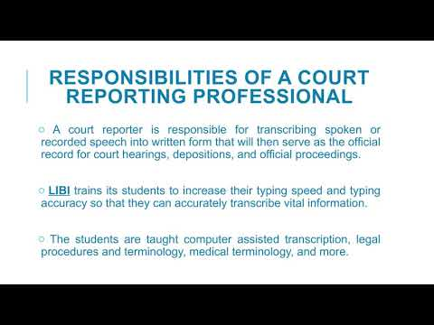 Everything You Need To Know About the Court Reporting Program at Long Island Business Institute