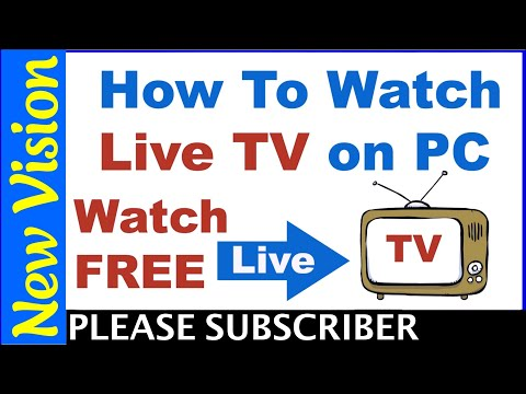 How To Watch All Live Tv Channels /Movies/Tv Shows On Laptop/PC 2019