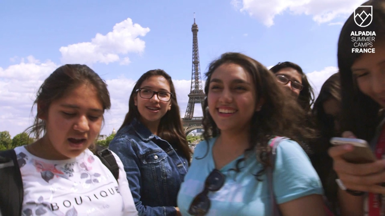 alpadia summer camps in france - youtube