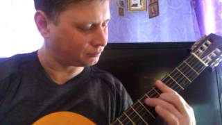 Уно моменто(Формула любви)шестиструнная гитара