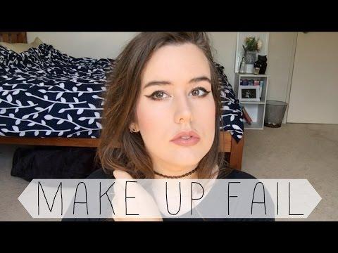 My Makeup Video Fail