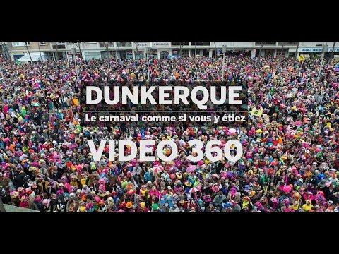 Vidéo 360° : le carnaval de Dunkerque comme si vous y étiez