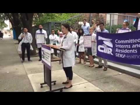 Mount Sinai West & St  Luke's Residents Fight for a Fair Contract