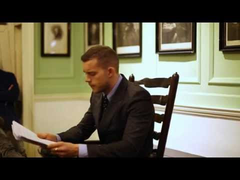 Russell Tovey reading for Pin Drop (HD quality)