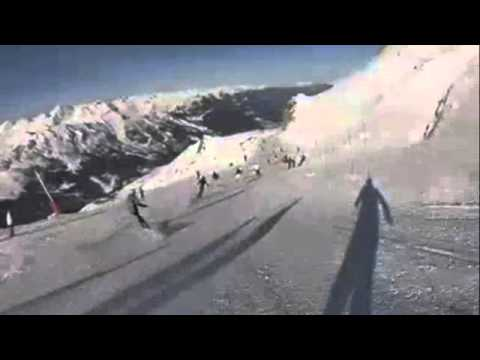 Michael Schumacher ski accident track