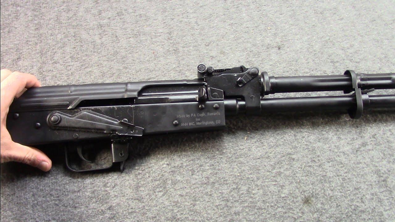 Romanian M10 DIY AK47 (Barreled Action Project)