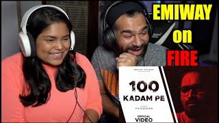 100 KADAM PE Reaction | Emiway Bantai (Prod. by Pendo46) |. The S2 Life
