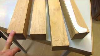 Curved Blockfront Dressing Table   Milling The Legs   Step 2