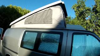 Progress On The Mobile Fun Unit Continues - Awd Chevy Van Custom Camper Conversion With Poptop