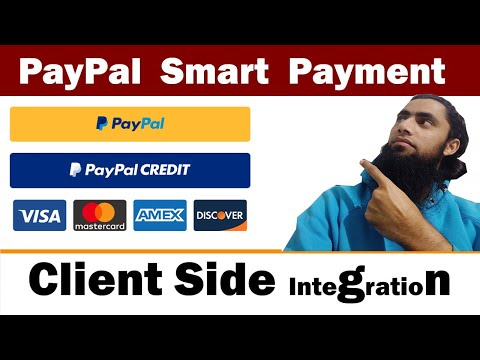 🤑💰Integrate PayPal Smart Buttons Checkout | 🤑🤑Accept Credit Debit Card Latest And Recommended [2020]