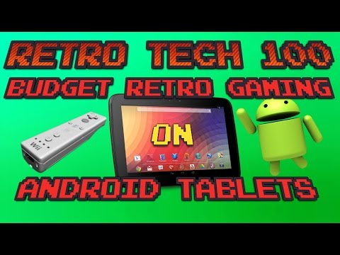 Cheap Retro Gaming On Android Tablets