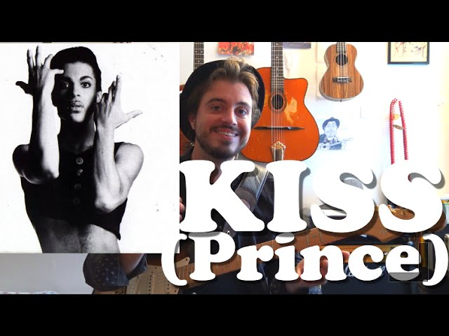Kiss (Prince) - Guitar Tutoriel Tribute with funky Wah Wah