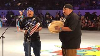 Hillside - Jemez Pueblo | Hand Drum - Gathering Of Nations Powwow 2018