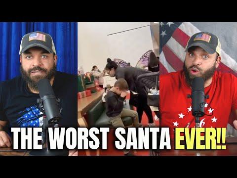 The WORST Santa Ever!!