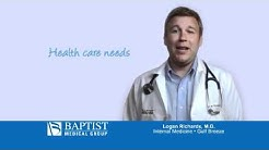 Baptist Medical Group TV - Dr. Logan Richards, Internal Medicine, Gulf Breeze, Fla.
