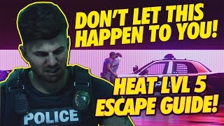 Need for Speed Heat! MAX HEAT ESCAPE GUIDE! ( DRIFT TIPS INCLUDED )