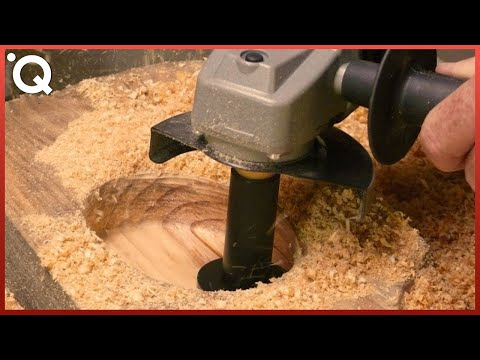 Most Satisfying Wood Carving Technics And Woodworking Tools ▶3