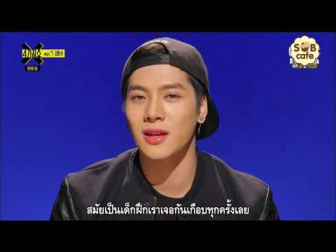 150224 [Thai Sub] 4 Things Show with Amber: GOT7 Jackson Cut