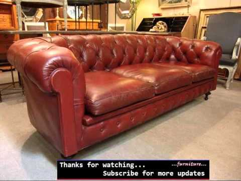 Leather Sofa Red | Modern Red Leather Sofa Idea Romance - Youtube