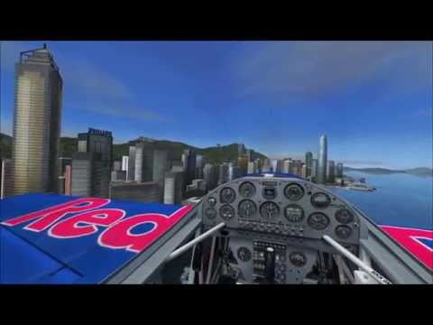 Flying in Hong Kong - Extra 300S