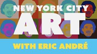 Comedian Eric André Critiques New York Public Art