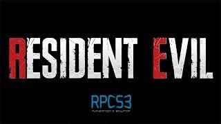 Resident Evil - RPCS3 TEST (Playable)