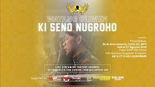 🔴#LiveStreaming Wayang Climen Ki Seno Nugroho - ONTOSENO RABI