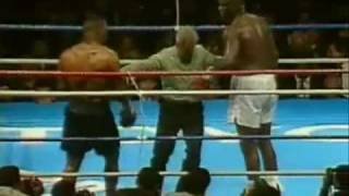 Mike Tyson's first loss (bad day)