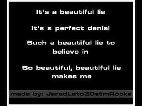 30 Seconds To Mars - A Beautiful Lie [Karaoke/Instrumental]