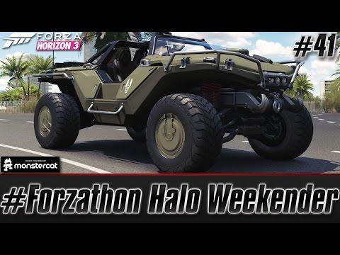 Forza Horizon 3 (Xbox One): #Forzathon Halo Weekender | M12S Warthog CST [LIVE CHAT]