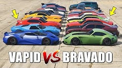 GTA 5 ONLINE - VAPID VS BRAVADO (WHICH IS FASTEST?)