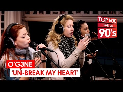 O'G3NE - 'Un-break My Heart' (90's cover // live bij Mattie & Wietze)