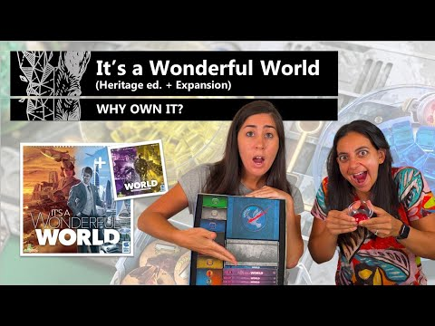 It's a Wonderful World (+ Corruption & Ascension) - Why Own It? Mechanics & Theme Board Game Review