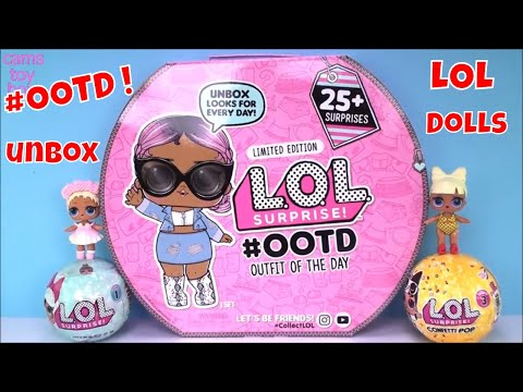 LOL Surprise ADVENT Calendar Outfit Of The Day Unboxing Opening Confetti POP DOLLS