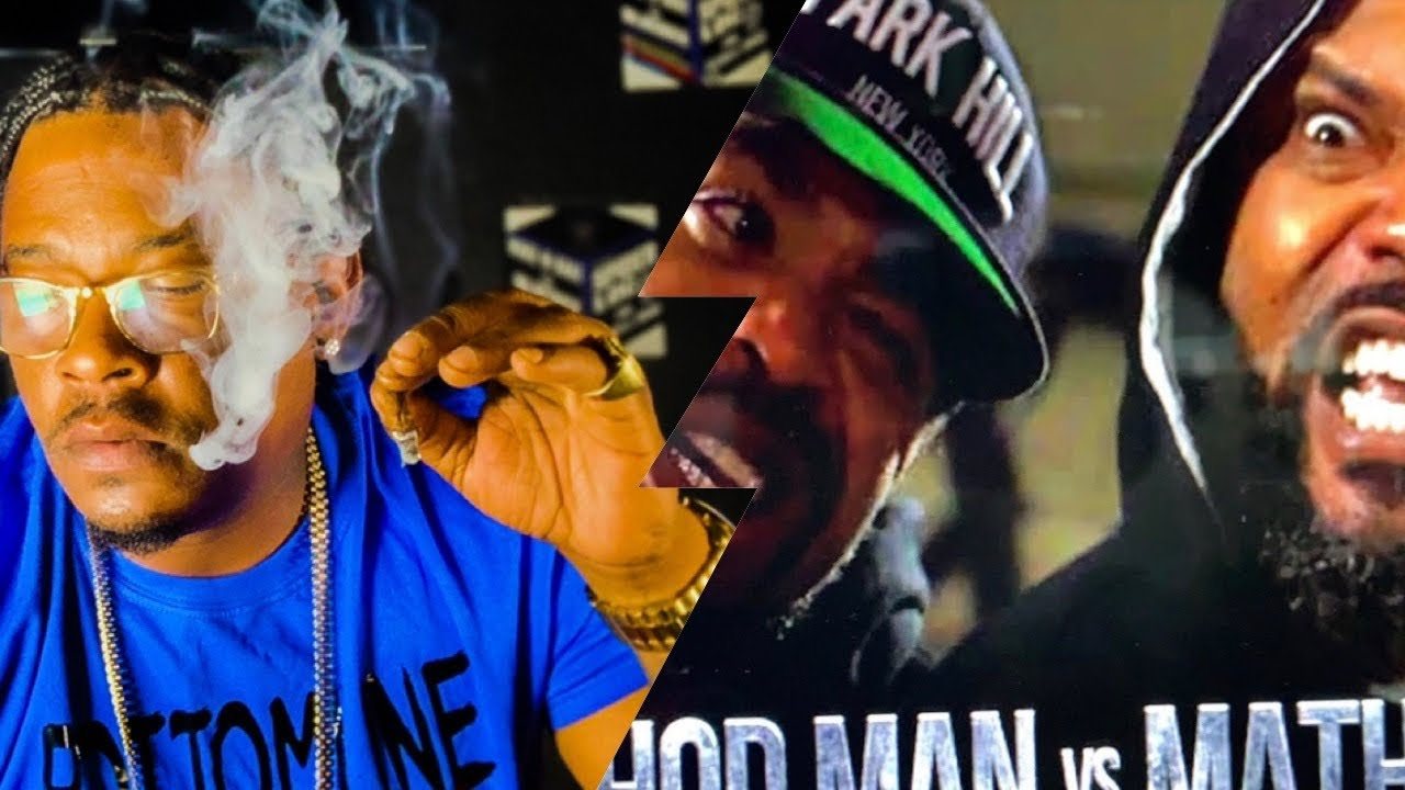 "Spider Loc Reacts "" Math Hoffa vs Method Man"" LEGENDARY"