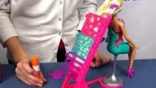 Studio fryzjerskie - Salon fryzjerski - Barbie - Mattel - www.MegaDyskont.pl - sklep z zabawkami
