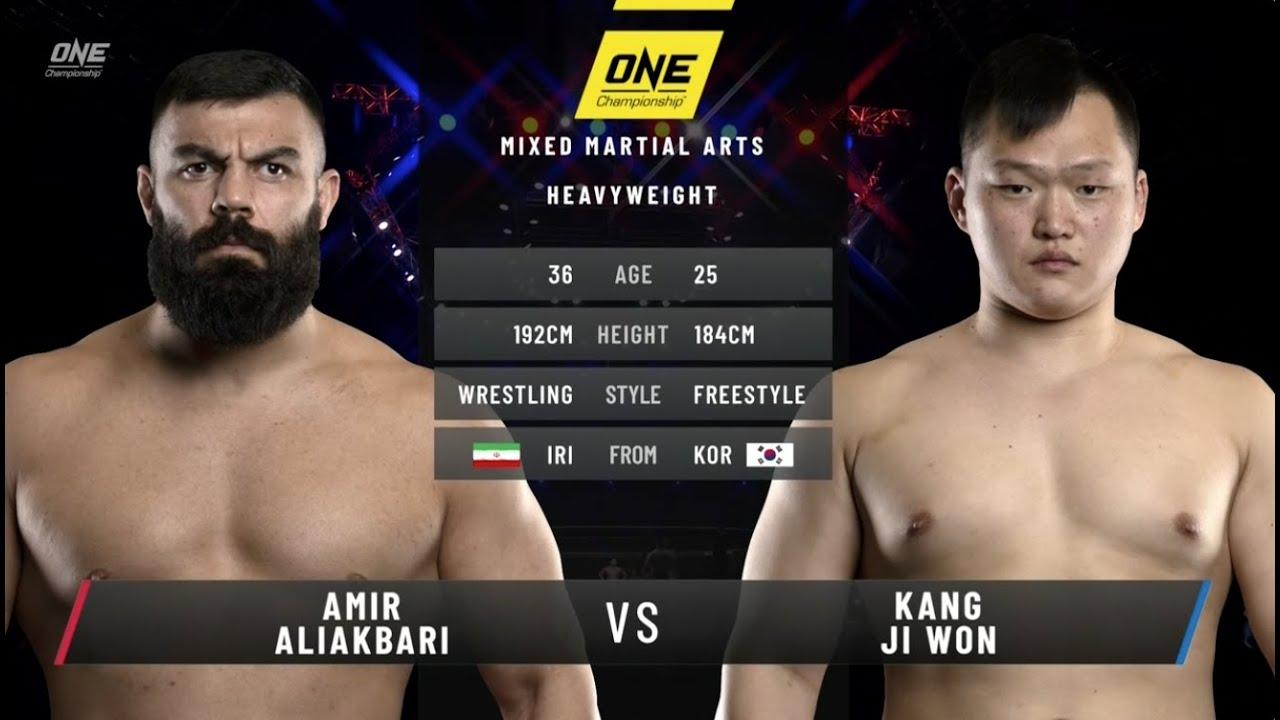 Download Amir Aliakbari vs. Kang Ji Won: ONE Fists of Fury II (FULL MATCH)