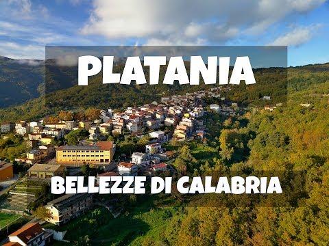 PLATANIA CZ, dal DRONE: BELLEZZE di CALABRIA