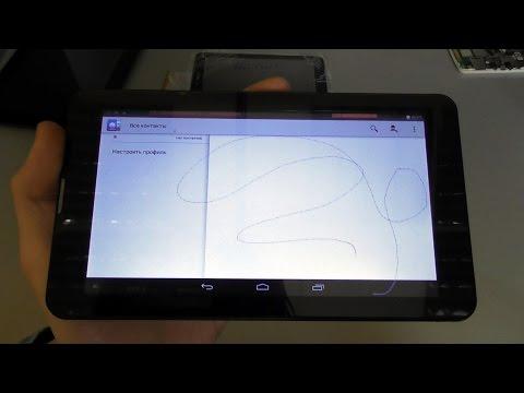 Как проверить сенсор на андроиде