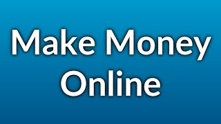 Extra Income at Home - Different Ways for You to Make Money Online From Home!