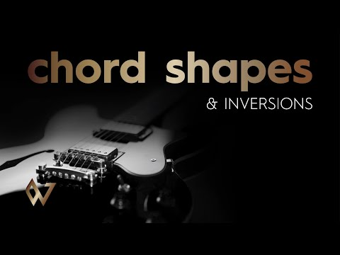Cool 2 Note Electric Guitar Chord Shapes and Inversions - Worship Guitar Skills