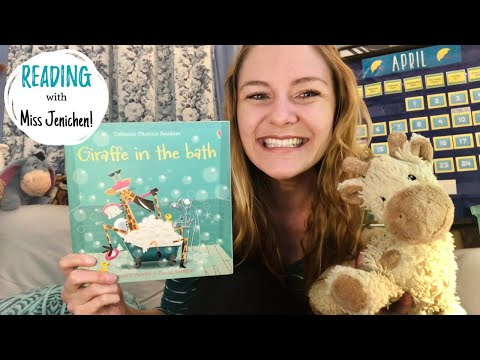 Giraffe In The Bath- Fun Friday Read Aloud