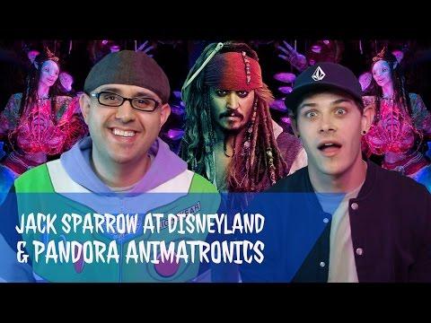 Disney Podcast - JACK SPARROW AT DISNEYLAND, PANDORA ANIMATRONICS - Dizney Coast to Coast - Ep. 415