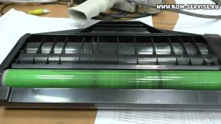 Нашар алады және мнет қағаз Panasonic KX MB1500. Қара жолақтар.
