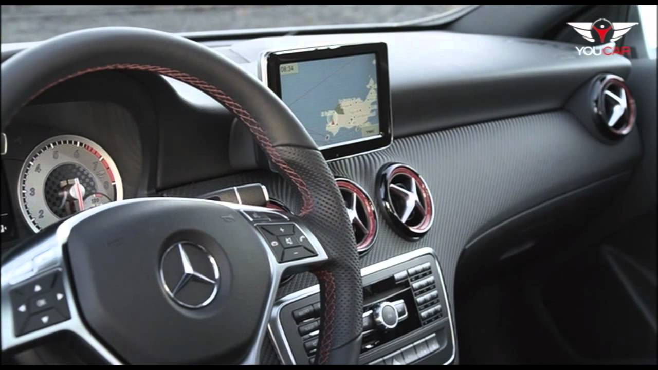 Interieur mercedes  2013 Mercedes A 250 Sport - INTERIOR - YouTube