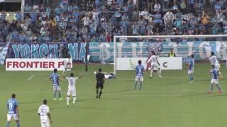 2017年6月25日(日)に行われた明治安田生命J2リーグ 第20節 横浜FCvs...