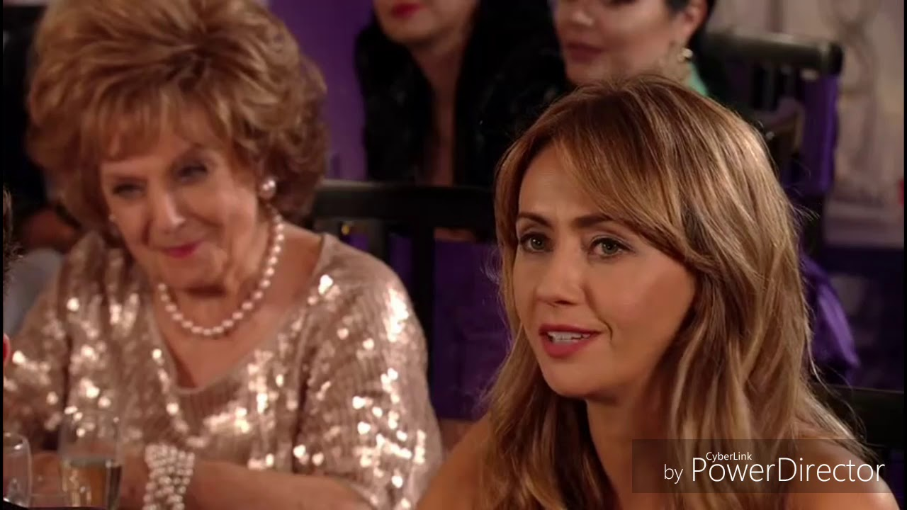 Coronation Street - Audrey Goes Nuts On Claudia After Winning An Award  (12th November 2018)