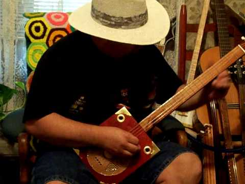 Cigar Box Guitar #133 from Back Porch Mojo