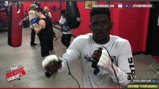 Erickson Lubin On Jermell Charlo and Jarrett Hurd Title Shots Willing to Fight in Either Hometown